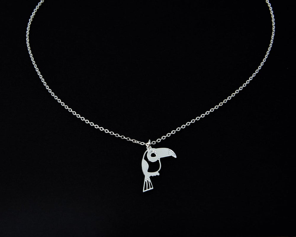 Toucan Parrot Necklace Gold / Silver - Shany Design Studio Jewellery Shop