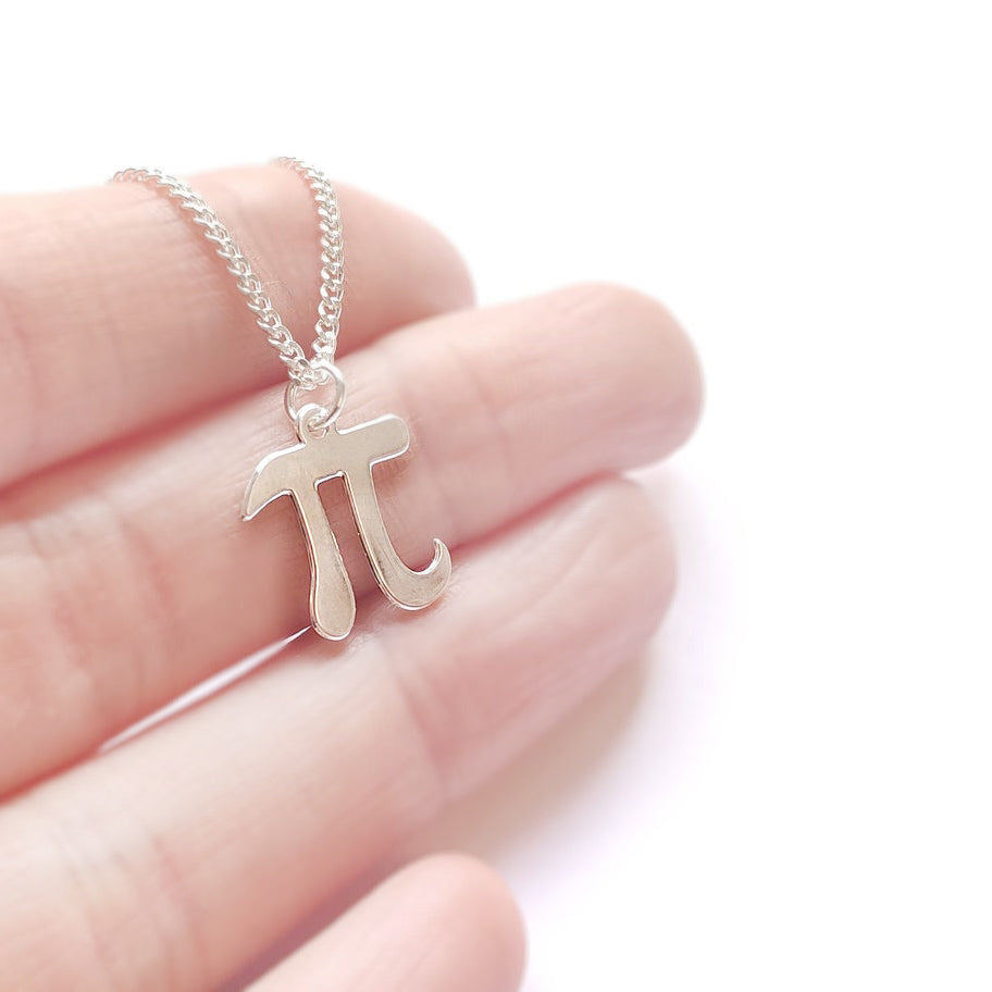 Pi Necklace Gold / Silver