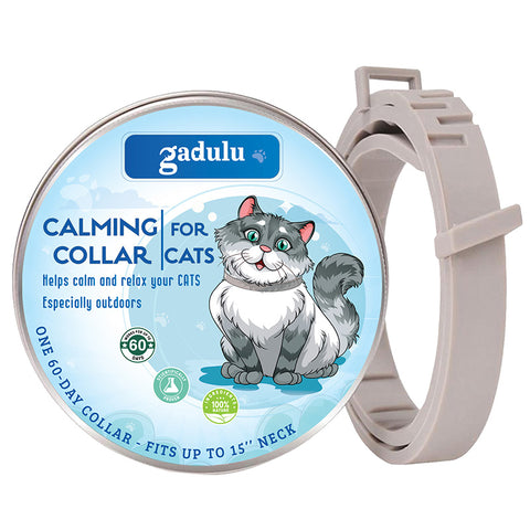 GADULU Calming Collar for Cats & Kittens