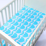 130cm*70cm 100% Cotton Crib Fitted Sheets Soft Baby Bed Mattress Covers Printed Newborn Infant Bedding Set Kids Mini Cot Sheet
