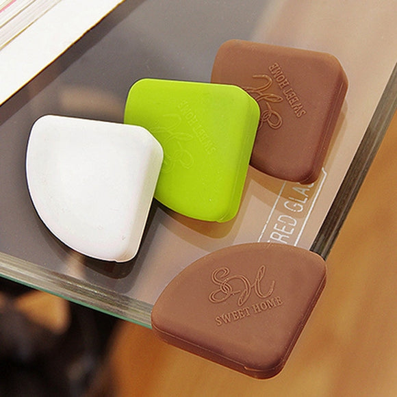 4pcs baby safety corner Silicone baby corner protector children Furniture  corner protectors table edge guard safety protection