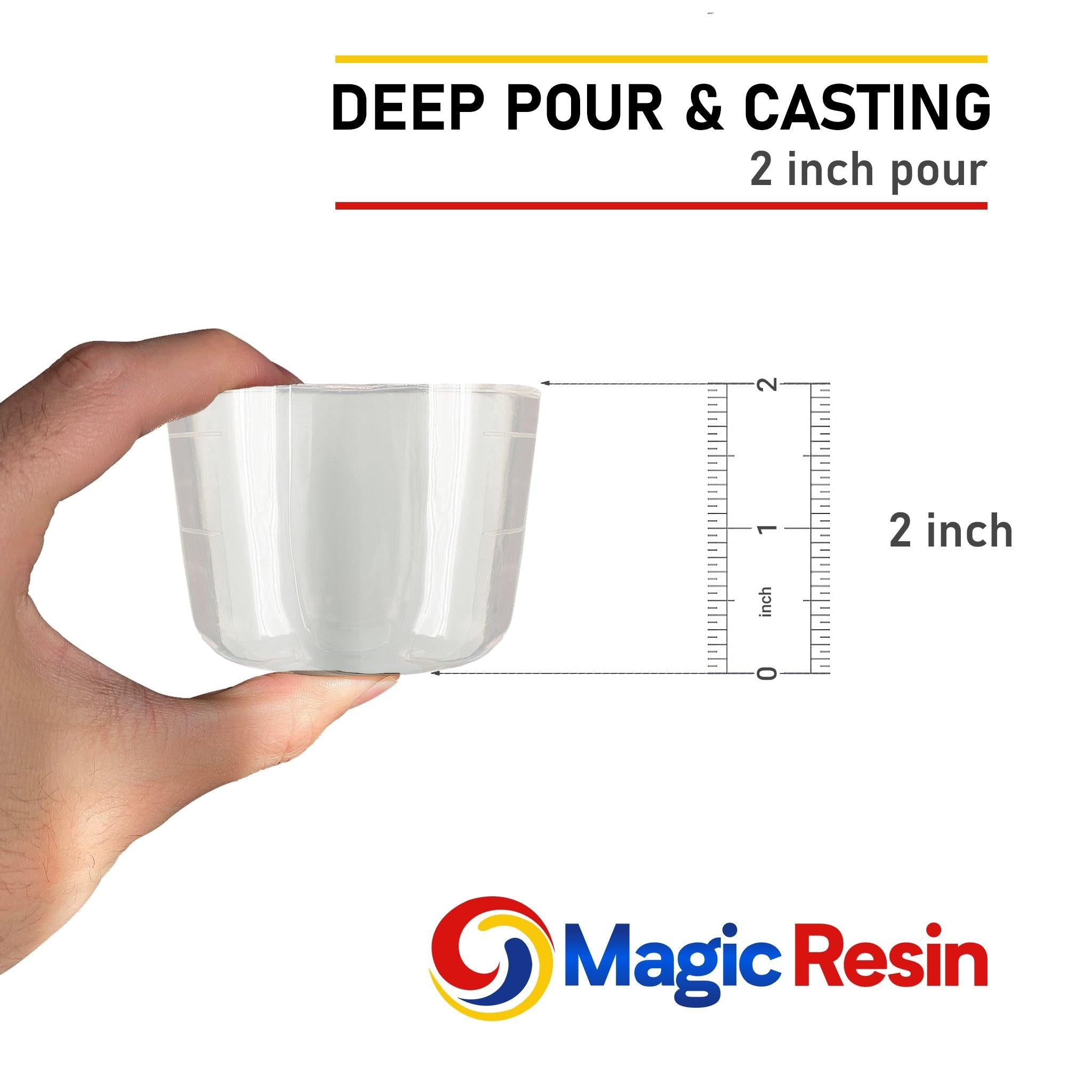 "3 Gallon (11.4 L) | 2"" Deep Pour, Casting & Art 