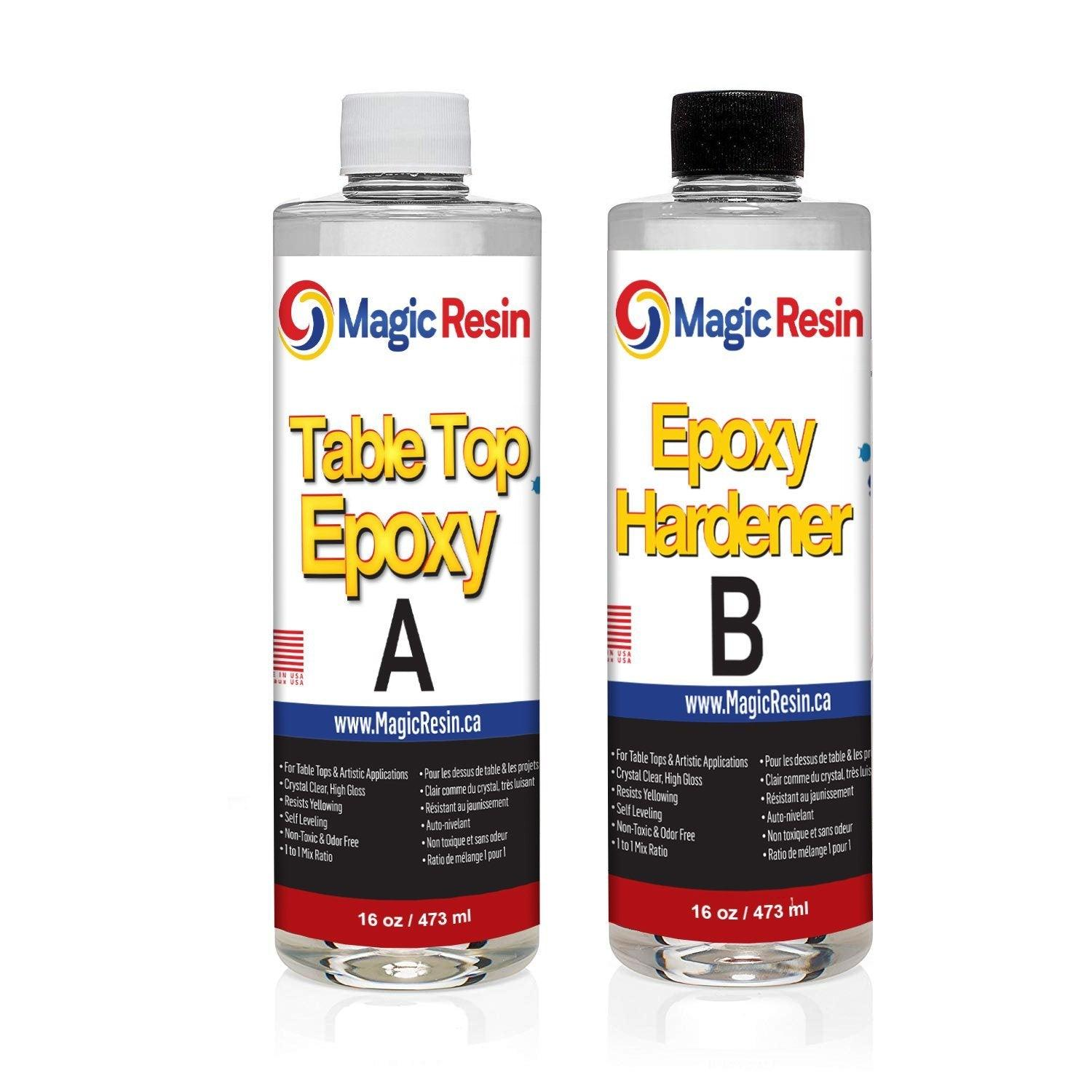 32 oz (946 ml) | Table Top & Art Clear Epoxy Resin Kit | Free Shipping
