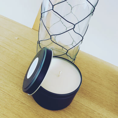 Candle Tins - Matte Black
