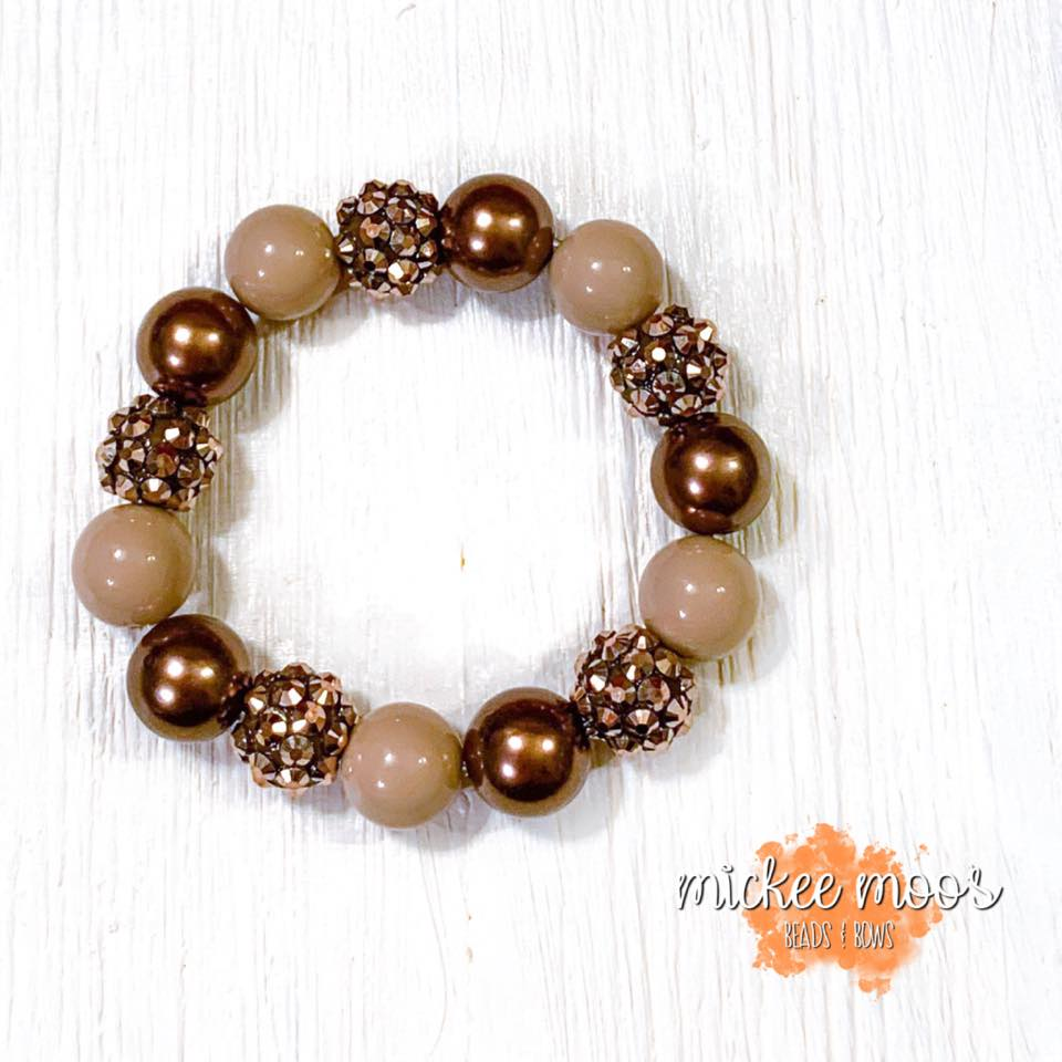 Bronze Stretch Bracelet