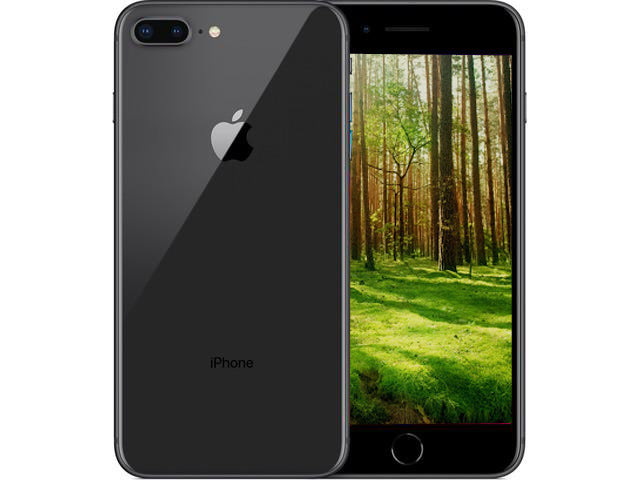 iPhone 8 Plus (64GB) Rymdgrå (4618877567116)