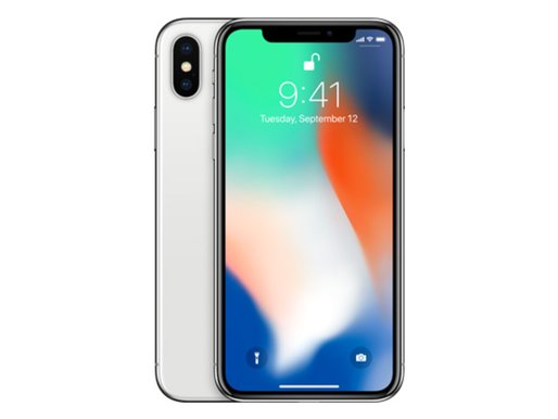 iPhone X (64GB) Silver - Billig iPhone (4619430363276)