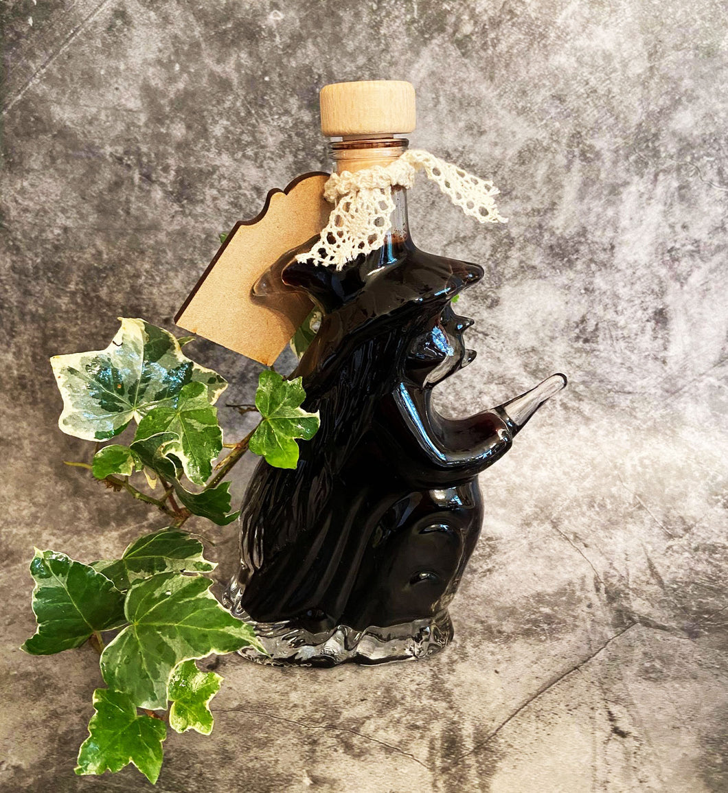 Flying Witch Potion Bottle