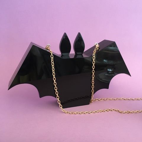 Acrylic Bat Handbag