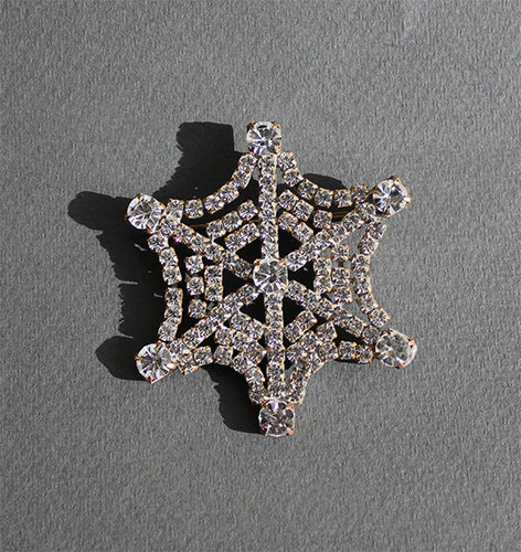 Art Deco Spiderweb Brooch
