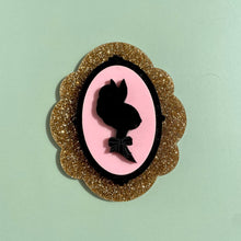 Load image into Gallery viewer, Marie Antoinette Bunny Brooch