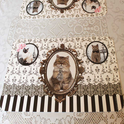 Cat Placemats - Set of 2