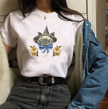 Load image into Gallery viewer, Kitten Witch T-shirt