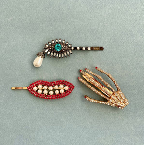 Surrealist Hair Clips