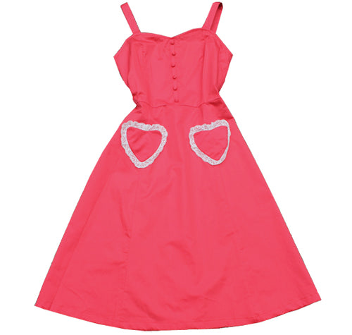 The sweetheart 50's dress