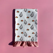 Load image into Gallery viewer, Floral Ghost Tea Towel