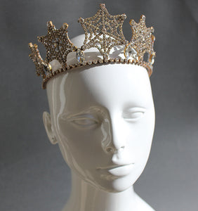 Art Deco Spiderweb Tiara