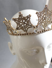 Load image into Gallery viewer, Art Deco Spiderweb Tiara