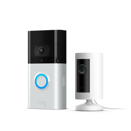 Video Doorbell 3 Plus + Indoor Cam