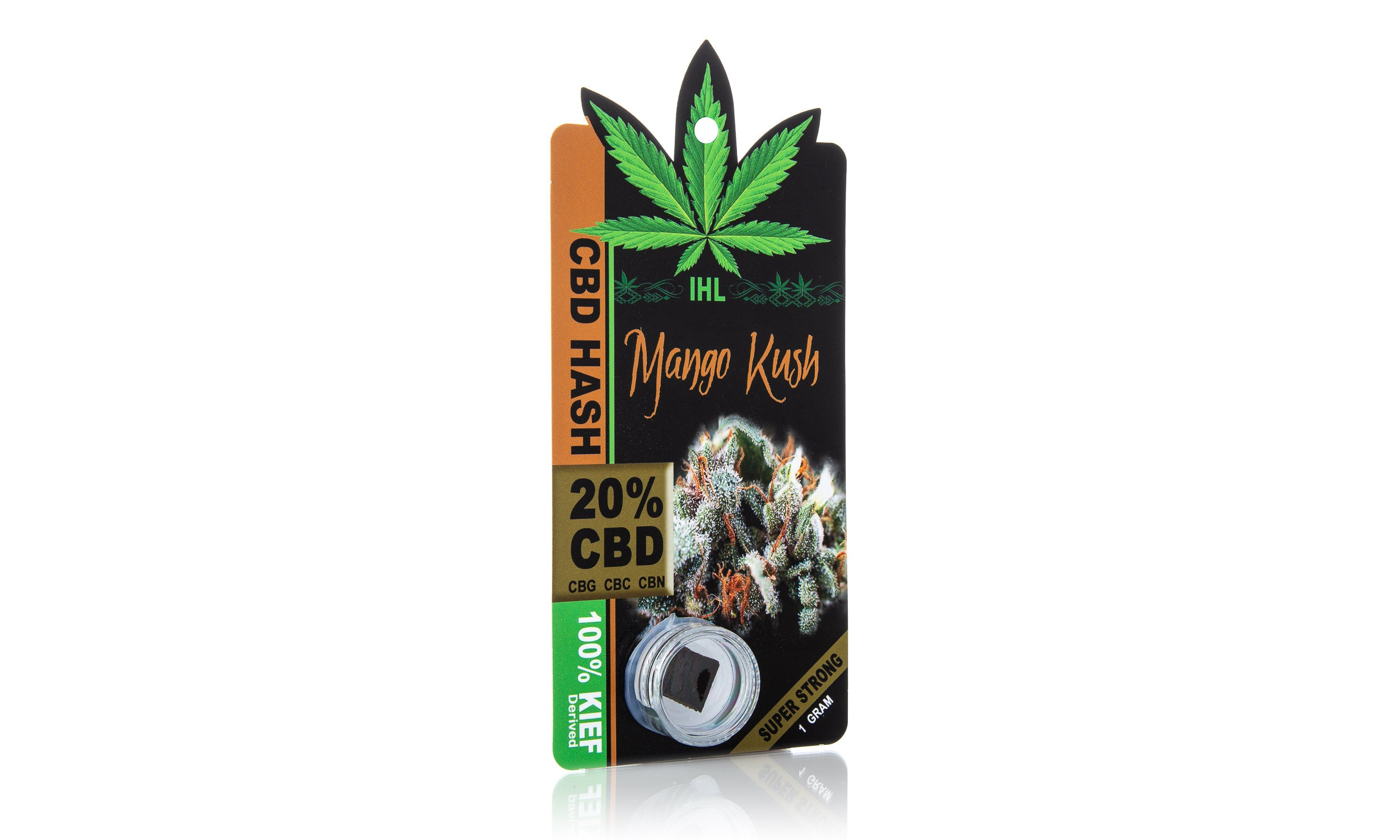 IHL 20% CBD Sativa Black Hash - Lake shore vibe
