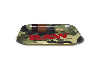 RAW Camouflage Metal Rolling Tray - Large - (1 Count) - Lake shore vibe