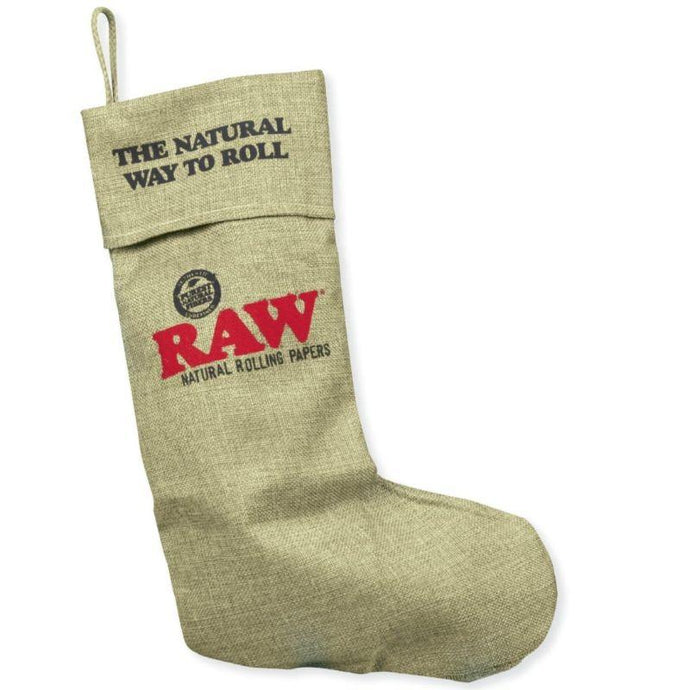 Raw Christmas Stocking (1 Count) - Lake shore vibe