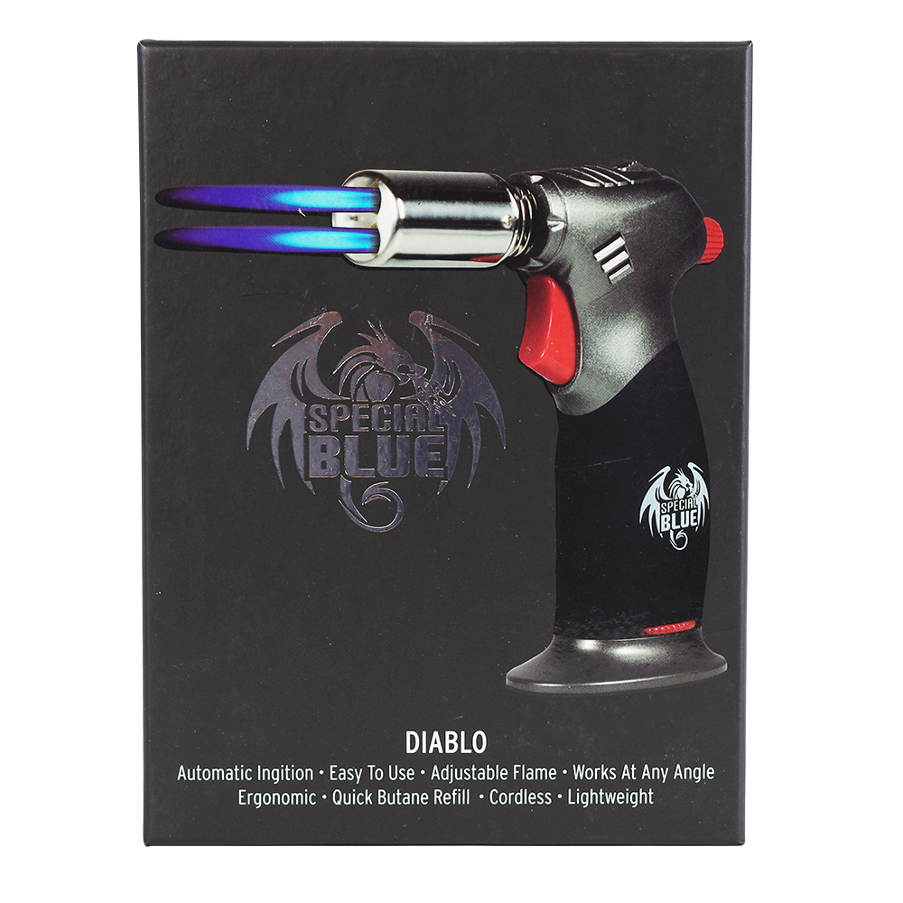 "Special Blue ""Diablo"" Flame Torch 1ct (Various Colors) - Lake shore vibe"