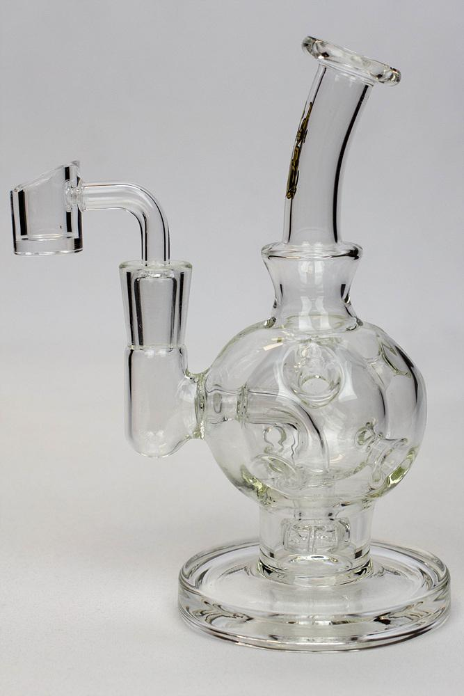 "6"" Sphere recycle rig with shower head diffuser - Lake shore vibe"