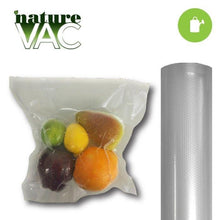 Load image into Gallery viewer, NatureVAC Vacuum Bag 15 inch x 19.5 feet (2 Rolls)