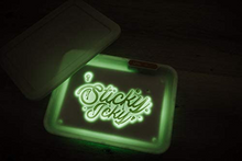 Load image into Gallery viewer, Sticky Icky Glow LED Tray with Smellproof Lid