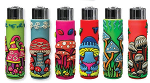 Clipper POP Lighters - Mushroom Cover (30 Count Display) - Lake shore vibe