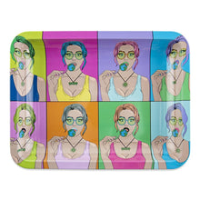 "Load image into Gallery viewer, OOZE - ""Candy Shop"" - Metal Rolling Tray - Small, Medium or Large (1 Count)"