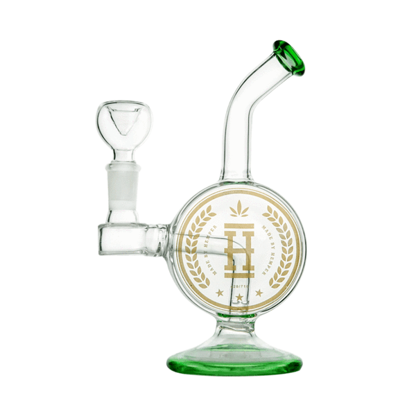 Hemper - Lucky Coin Rig - 1 Count - (Available in Transparent Black & Green) - Lake shore vibe