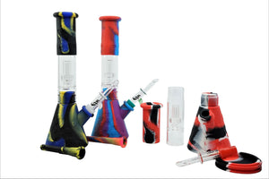 Collapsible Hybrid Water pipe with Dablione