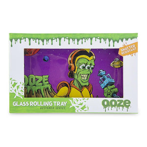 "OOZE - ""Invasion"" - Shatter Resistant Glass Tray - Small or Medium (1 Count) - Lake shore vibe"