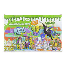 "Load image into Gallery viewer, OOZE - ""Mood Swings"" - Shatter Resistant Glass Tray - Small or Medium (1 Count)"