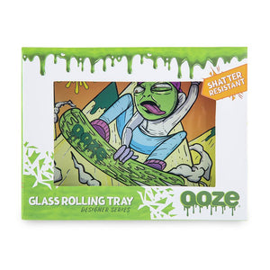 "OOZE - ""Slime Carver"" - Shatter Resistant Glass Tray - Small or Medium (1 Count)"