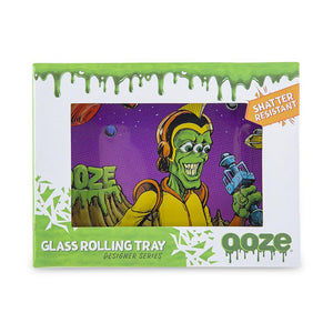 "OOZE - ""Invasion"" - Shatter Resistant Glass Tray - Small or Medium (1 Count)"