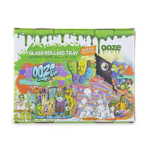 "OOZE - ""Dystopia"" - Shatter Resistant Glass Tray - Small or Medium (1 Count)"