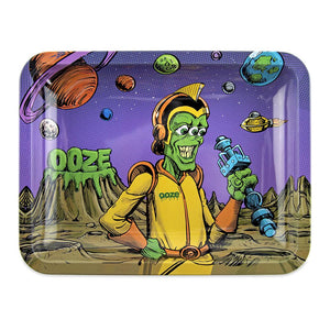 "OOZE - ""Invasion"" - Metal Rolling Tray - Small, Medium or Large (1 Count)"