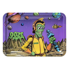 "Load image into Gallery viewer, OOZE - ""Invasion"" - Metal Rolling Tray - Small, Medium or Large (1 Count)"