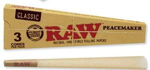 Raw Classic Cone PeaceMaker - 3 Pack (16 Count Display) - Lake shore vibe