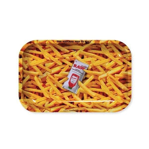 Raw French Fries Small Rolling Tray - (1 Count) - Lake shore vibe