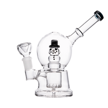 Load image into Gallery viewer, Hemper Snow Globe Bong - 1 Count - (Various Colors)