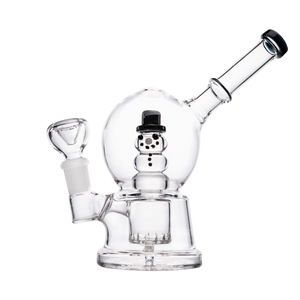 Hemper Snow Globe Bong - 1 Count - (Various Colors) - Lake shore vibe