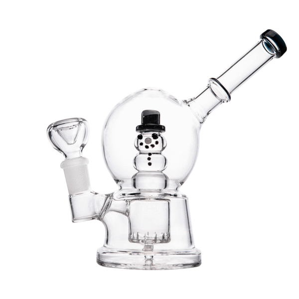 Hemper Snow Globe Bong - 1 Count - (Various Colors)