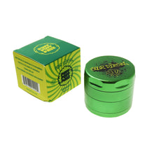 Load image into Gallery viewer, Puff Puff Pass Aluminum Strain 3 Stage Grinder 55mm - Various Colors (1 Count)