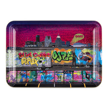 "Load image into Gallery viewer, OOZE - ""Tag"" - Metal Rolling Tray - Small, Medium or Large (1 Count)"