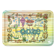 "Load image into Gallery viewer, OOZE - ""The Works"" - Metal Rolling Tray - Small, Medium or Large (1 Count)"