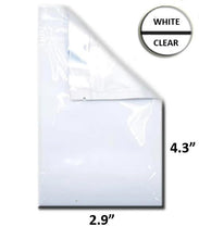 "Load image into Gallery viewer, Mylar Bag Vista White/Clear - 1 Gram - 4.3 x 2.9"" (100 to 20,000 Count)"